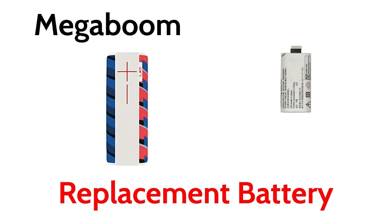 UE Ultimate Ears Logitech Megaboom No Power Bad Battery