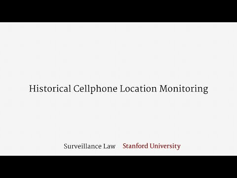 Historical Cellphone Location Monitoring (Public Movements Doctrine)