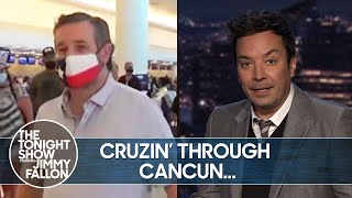 Ted Cruz Faces Backlash in Texas After Fleeing to Cancun | The Tonight Show