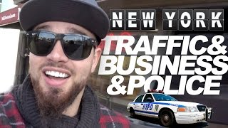 NYC & TRAFFIC & BUSINESS MEETING & POLICE