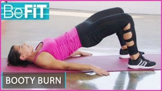 Booty Burn Workout | 15 Min: BeFiT Trainer Open House- Erika Hammond