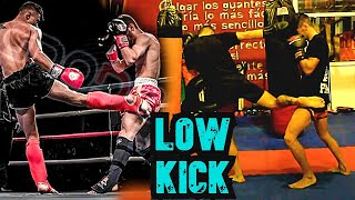 La Patada del K.O  de  Kick Boxing - Muay Thai / Low Kick