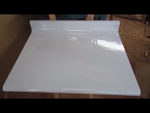 How to postforming panel easy homemade form luis lovon - Panel pared cocina ...