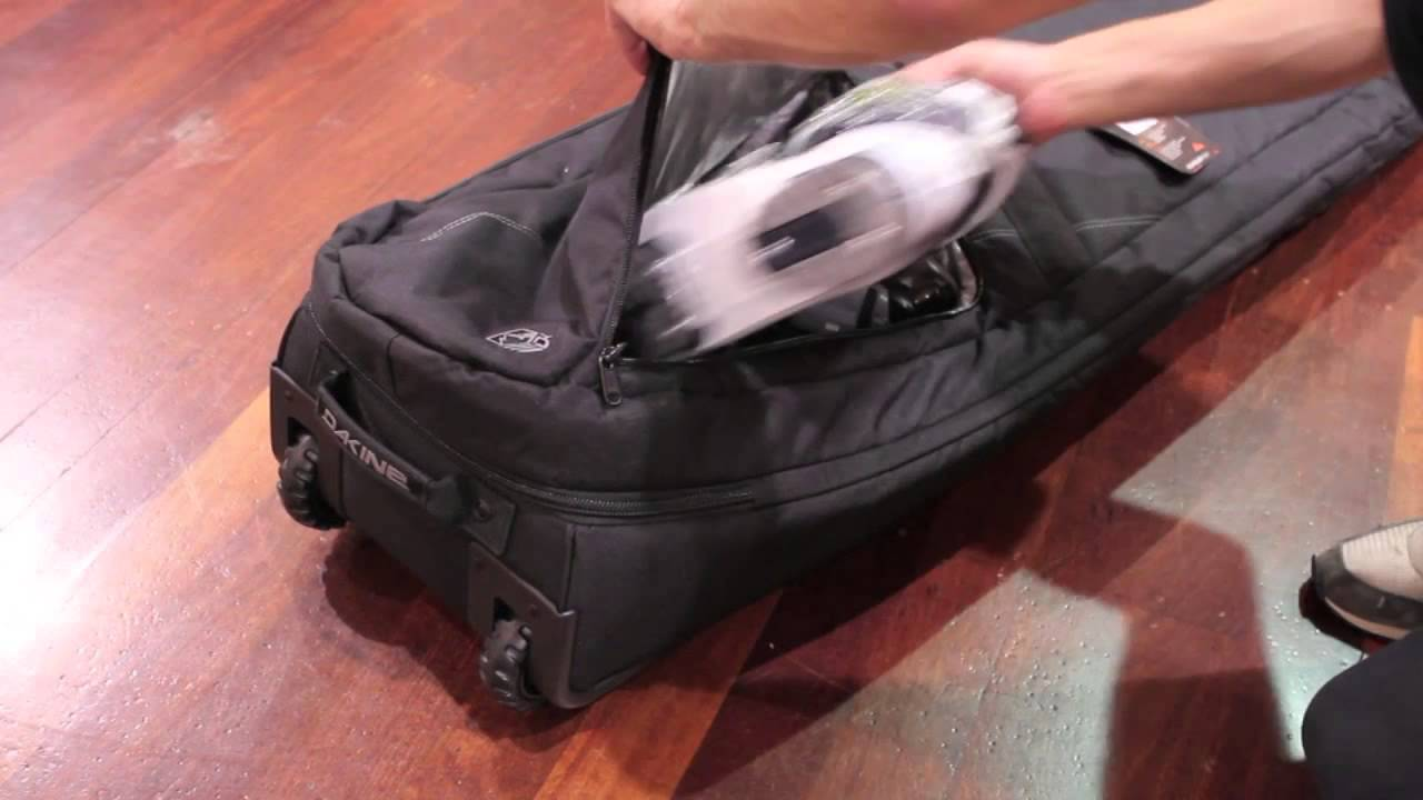 Dakine High Roller snowboard bag overview and features - YouTube 5717ad32ed70a