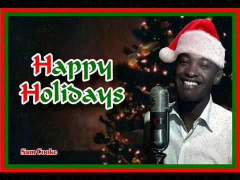 Sam Cooke Christmas greeting - YouTube
