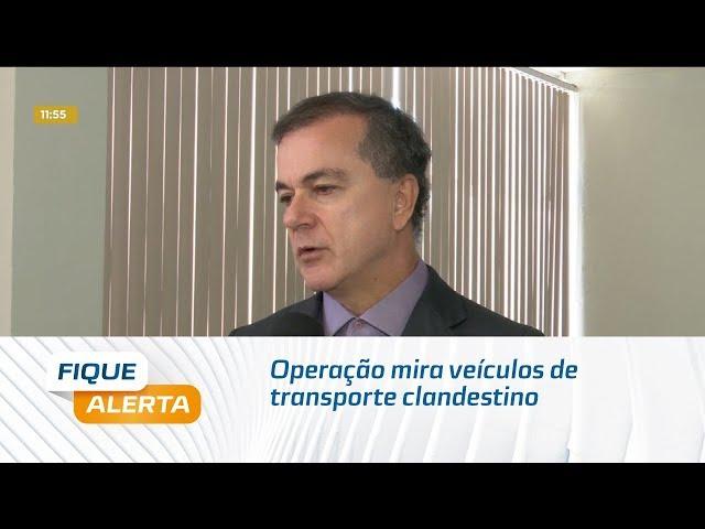 Operação mira veículos de transporte clandestino em Maceió e Região Metropolitana