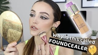 Download IS THIS ANY GOOD? TARTE FOUNDCEALER FOUNDATION *wear test* Mp3 and Videos