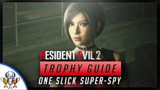 Resident Evil 2 - One Slick Super Spy  - Ada Wong's Segment Using Only the EMF Visualizer