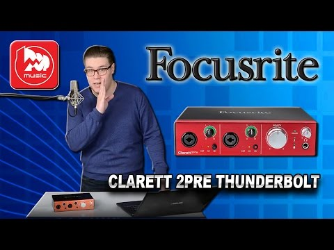 FOCUSRITE CLARETT 2PRE THUNDERBOLT - звуковая карта