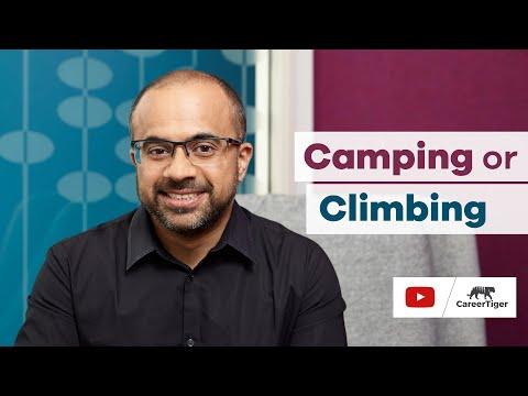 Camping or Climbing?
