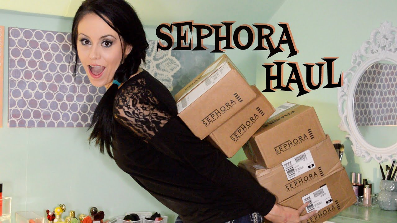 BIG Sephora VIB Sale Haul | Spring 2015 - YouTube