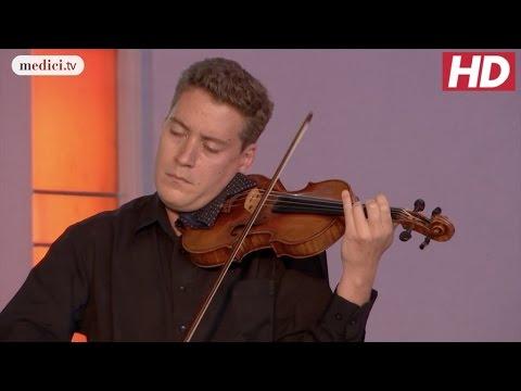 Kristóf Baráti - Sonata for Solo Violin No. 1 - Bach: Verbier Festival 2016