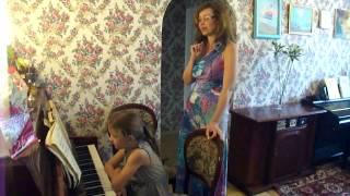 Уроки игры на фортепиано Урок №7  Адрианна