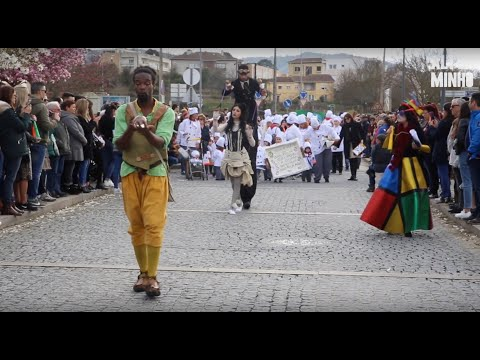 Desfile de Carnaval anima ruas de Vila Nova de Cerveira | Altominho TV