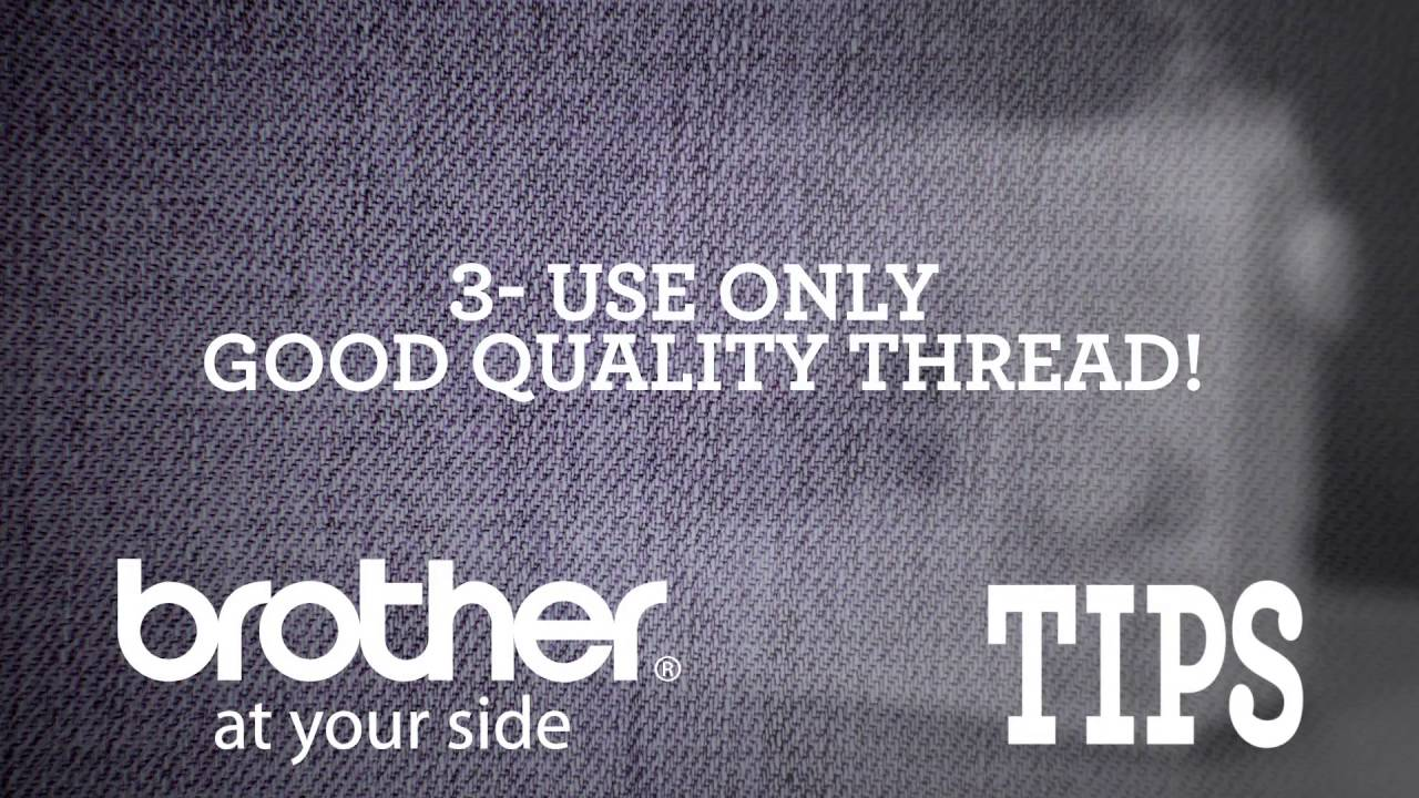 Brother Video Tip: Prevent Skipped Stitches from Brother - YouTube