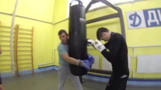 Тренировка по боксу (Динамо, Харьков)