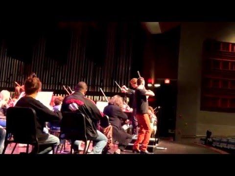 Andrew Sords, violin - Mendelssohn concerto rehearsal