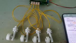 Project Arduino GSM Water Level