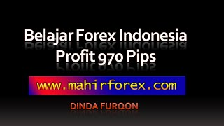 Belajar Trading Forex Indonesia | Strategy Forex | Profit 970 Pips
