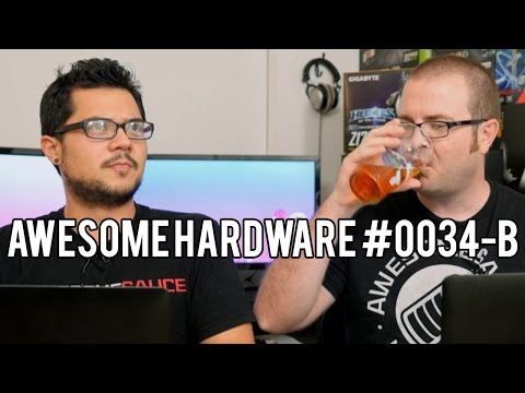 Awesome Hardware #0034-B: The Perfect Monitor? Pepsi Makes Smartphones? Questions?