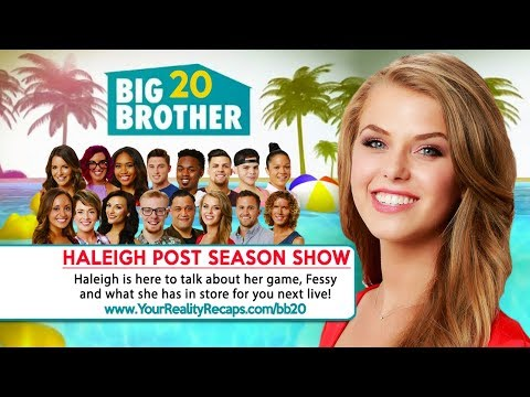 BB20 POST SEASON INTERVIEW: Haleigh Broucher Live - YouTube