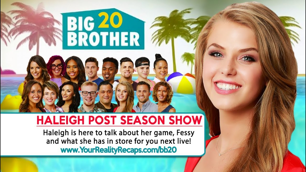 #BB20 POST SEASON INTERVIEW: Haleigh Broucher Live