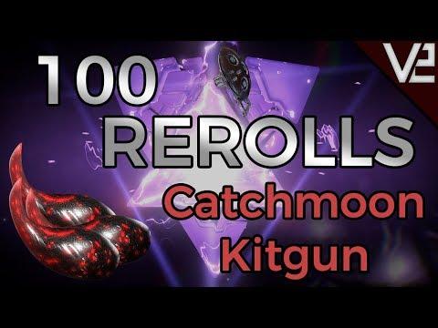 Warframe - 100 Rerolls: Catchmoon [WE MADE A HUGE MISTAKE..] thumbnail