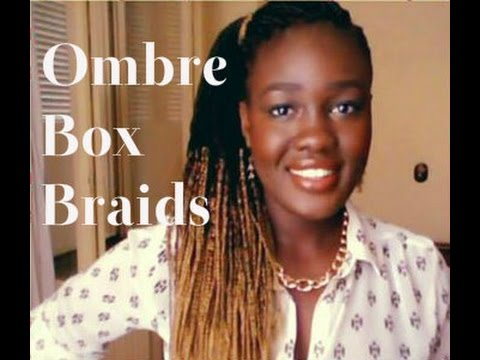 Ombre Box Braids Solange Knowles Poetic Justice Braids
