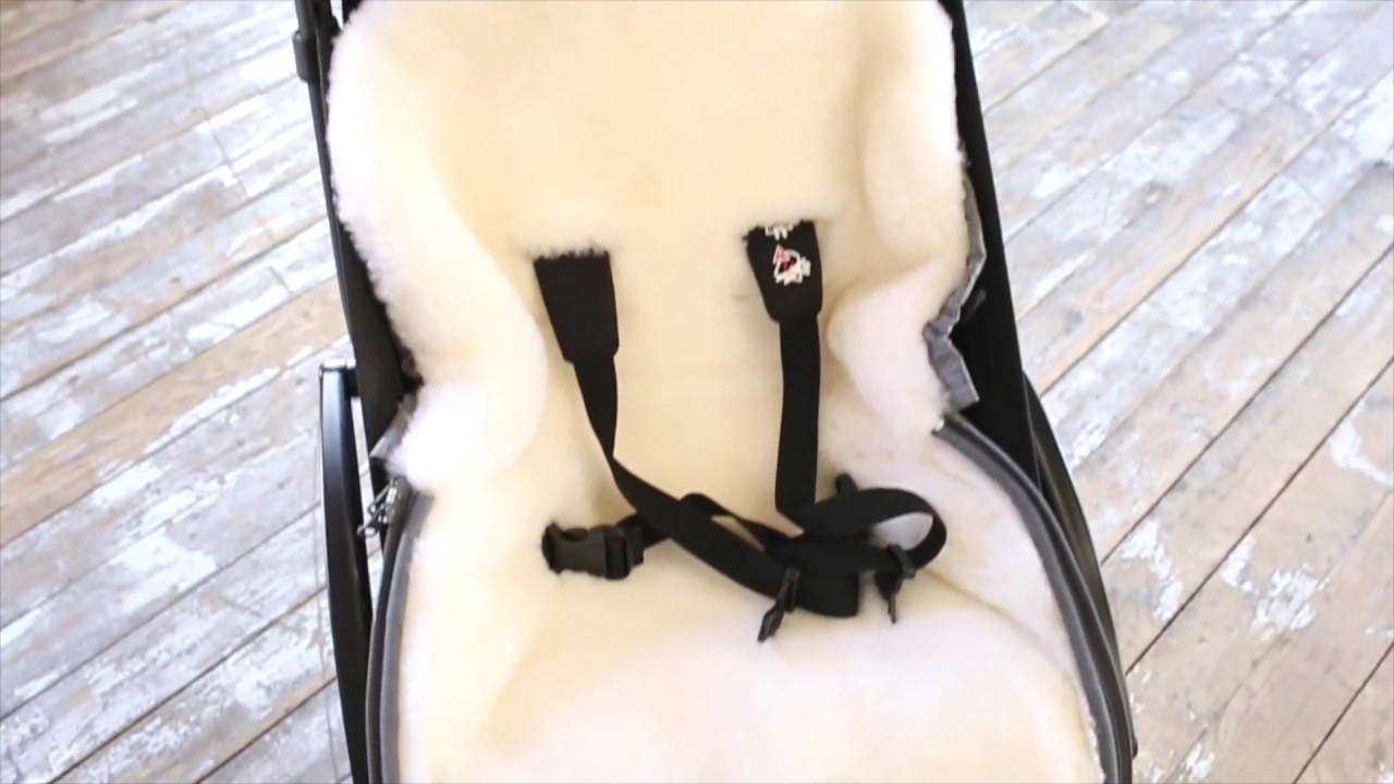Конверт в коляску пуховый Elodie Details (Элоджи Дитаилс) - YouTube