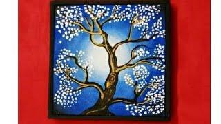 Cherry blossom tree | Canvas painting