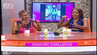 Dancing Challenge With Shiro Aunty Boss