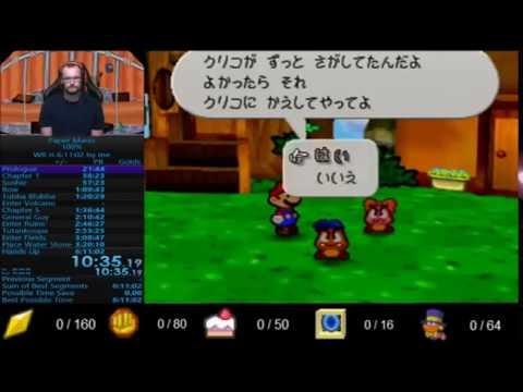 Paper Mario 100% Speedrun in 5:54:42