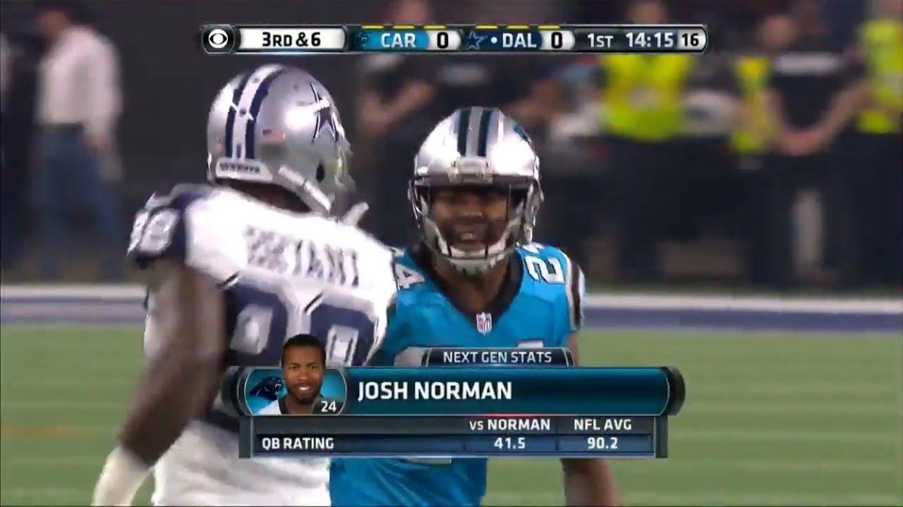 Dez Bryant Vs Josh Norman 2015 Wr Vs Cb Highlights
