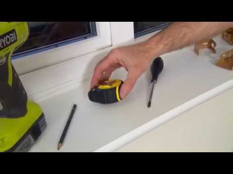 How to fit Wooden blinds   Web-Blinds