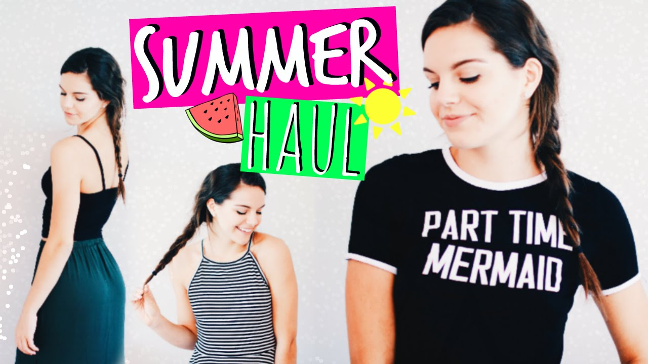 3926a07587 Collective TRY-ON Summer Clothing Haul! | 2016 - YouTube