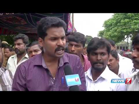 Private taxi drivers stages hunger strike over multiple demands at Chennai | News7 Tamil
