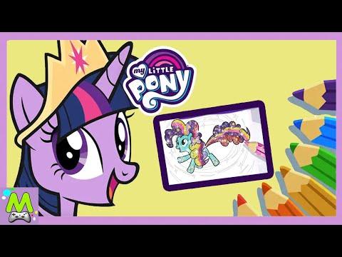My Little Pony:Раскраска.Самое Яркое Приключение с Пони.Новая Игра с Май Литл Пони
