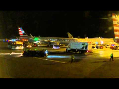 Los Angeles - Miami night flight: Takeoff, El Paso-Juárez, A