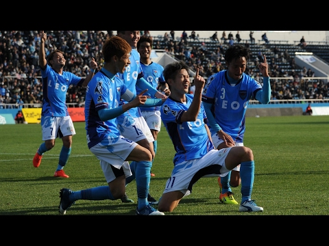 50-year-old Kazuyoshi Miura breaks record to become oldest goalscorer in football – video