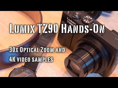Panasonic Lumix TZ90 4K Compact Cam Hands-On And GIVEAWAY!