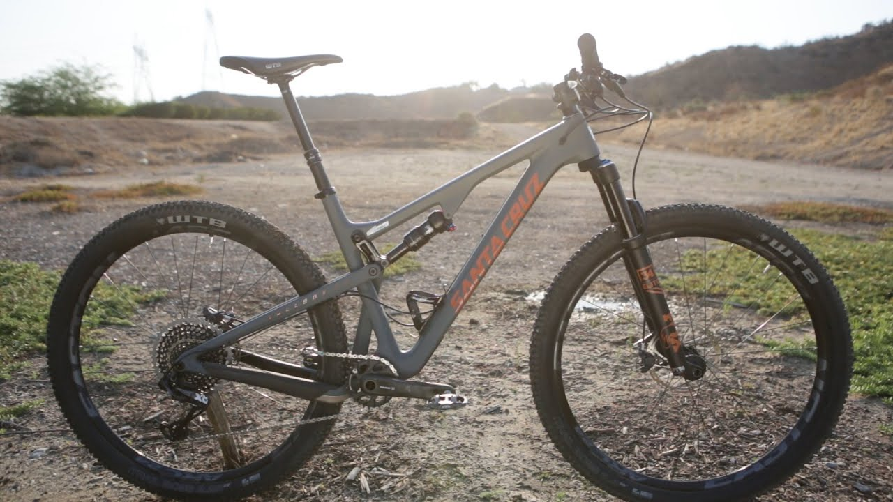 First Ride 2017 Santa Cruz Tall Boy Carbon Cc Mountain