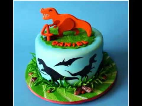 Kreative dinosaurier kuchen design deko ideen youtube for Kuchen design ideen
