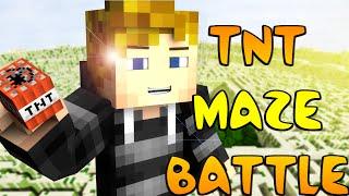 Minecraft ~ TNT MAZE WARS! #1 w/Kenny & Preston!