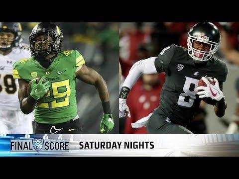 Oregon - Washington State football game preview