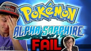 Pokemon ALPHA SAPPHIRE Speedrun FAIL - Livestream Highlight...