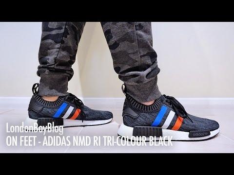 Adidas Tri Color NMD R1 Review \u0026 On