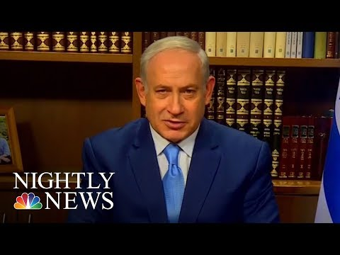 Middle East On Edge After Donald Trump's Jerusalem Announcement   NBC Nightly News