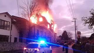 Пожежа м.Калуш вул.Грушевського 70