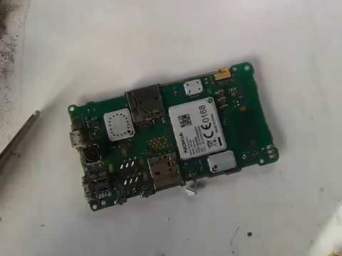 nokia asha 500 on off switch