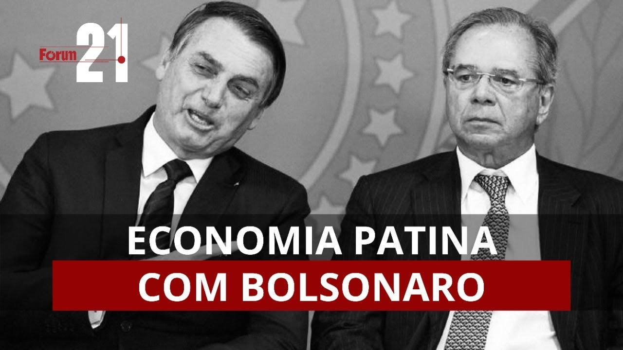 Economia patina com Bolsonaro